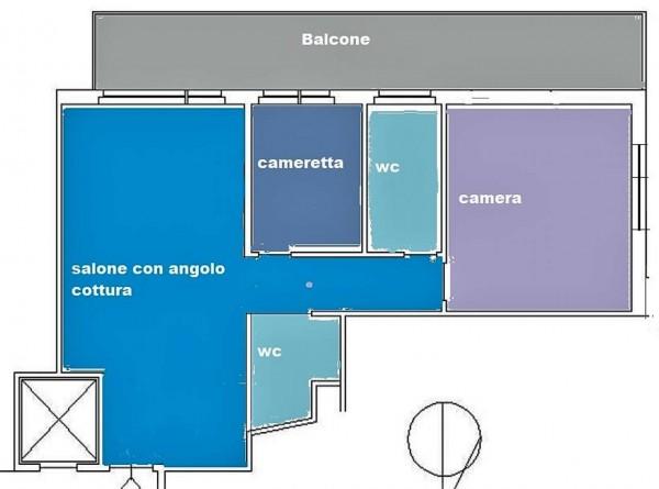 Appartamento in vendita a Roma, Magliana, 80 mq - Foto 20