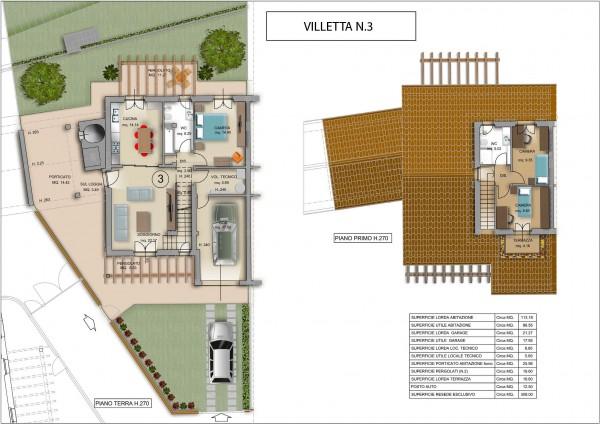 Appartamento in vendita a Subbiano, La Vigna, Con giardino, 84 mq - Foto 5