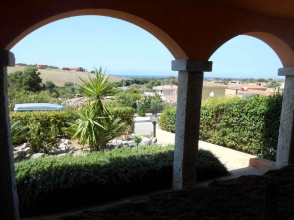 Villetta a schiera in vendita a Aglientu, Via Della Sughereta Vignola Mare, Arredato, con giardino, 80 mq - Foto 13