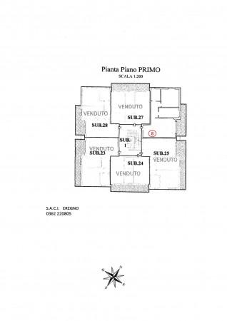 Appartamento in vendita a Giussano, Centrale, 82 mq - Foto 2