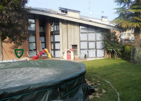 Villa in vendita a Malnate, Con giardino, 279 mq - Foto 5