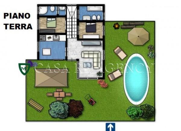 Villa in vendita a Malnate, Con giardino, 279 mq - Foto 3