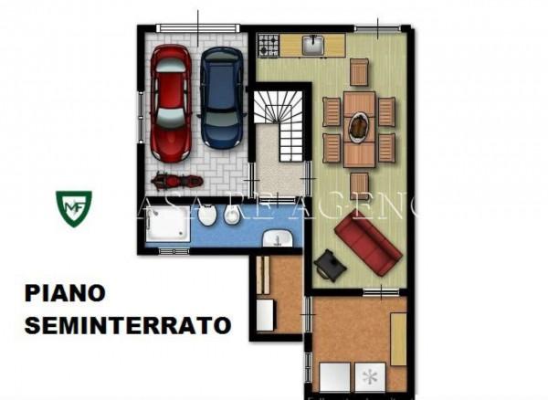 Villa in vendita a Malnate, Con giardino, 279 mq - Foto 4