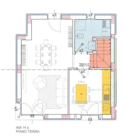 Villetta a schiera in vendita a Borghetto Lodigiano, Residenziale, Con giardino, 167 mq - Foto 6