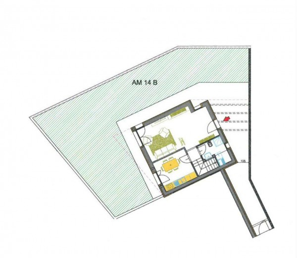 Villetta a schiera in vendita a Borghetto Lodigiano, Residenziale, Con giardino, 167 mq - Foto 3