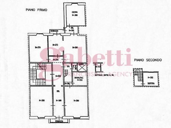 Appartamento in vendita a Firenze, Viali, 187 mq - Foto 6