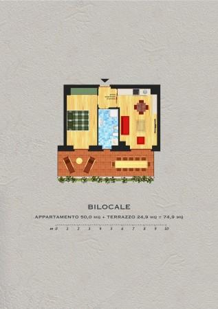 Bilocale in vendita a Agrate Brianza, 50 mq - Foto 8