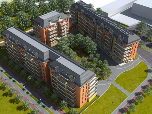 Appartamento in vendita a Milano, Con giardino, 98 mq