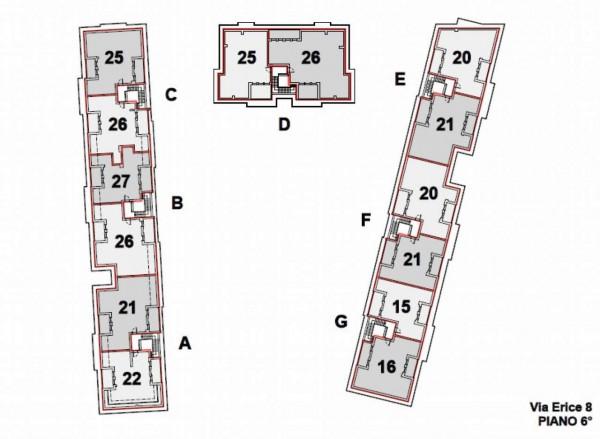 Appartamento in vendita a Milano, Con giardino, 103 mq - Foto 2