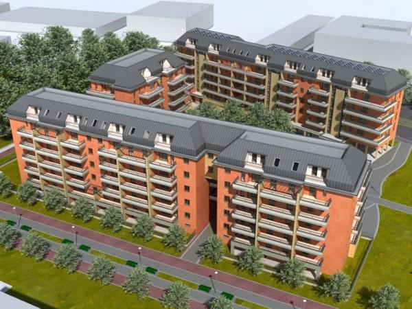 Appartamento in vendita a Milano, Con giardino, 103 mq