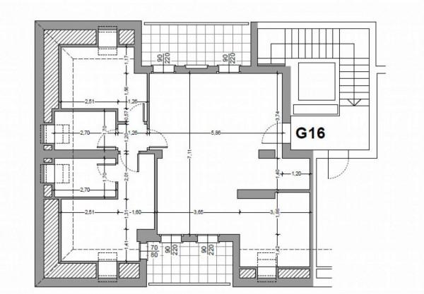 Appartamento in vendita a Milano, Con giardino, 103 mq - Foto 3