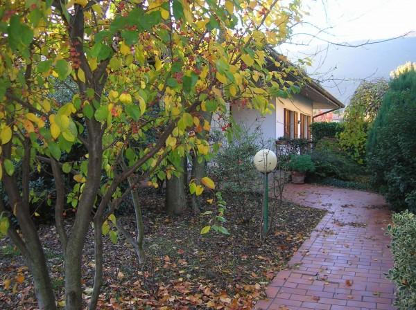 Villa in vendita a Botticino, Con giardino, 200 mq