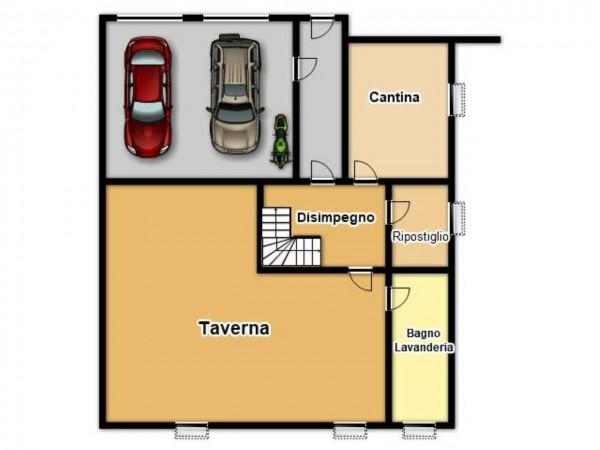 Villa in vendita a Botticino, Con giardino, 200 mq - Foto 2