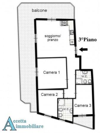 Appartamento in vendita a Taranto, Residenziale, 86 mq - Foto 2