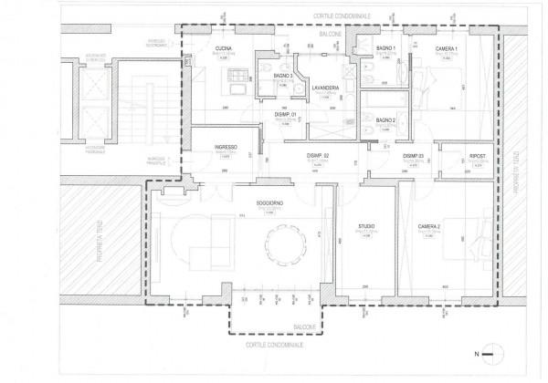 Appartamento in affitto a Milano, Corridoni, 160 mq - Foto 3