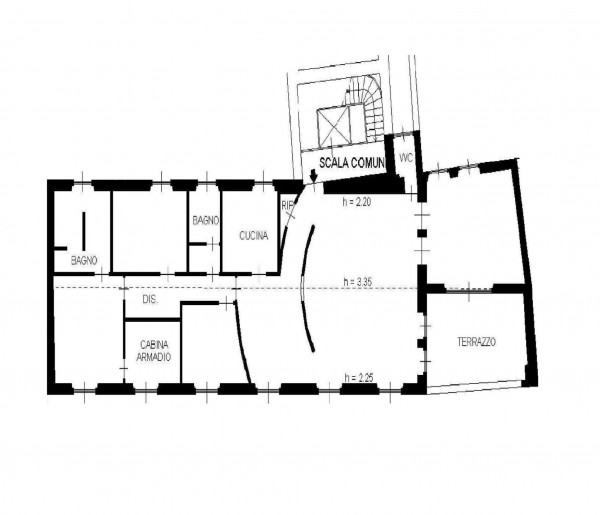 Appartamento in vendita a Milano, 210 mq - Foto 2