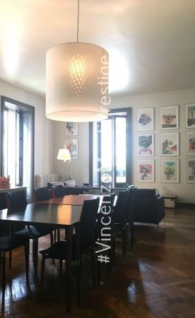 Appartamento in vendita a Milano, Via Saffi, Arredato, 220 mq
