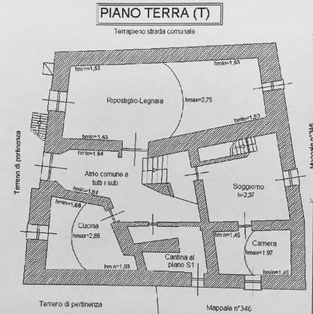 Casa indipendente in vendita a Oulx, Residenziale, Con giardino, 400 mq - Foto 4