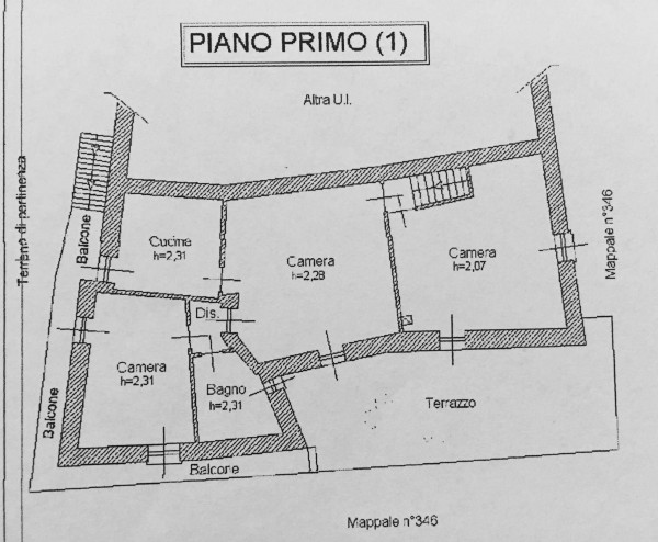 Casa indipendente in vendita a Oulx, Residenziale, Con giardino, 400 mq - Foto 3