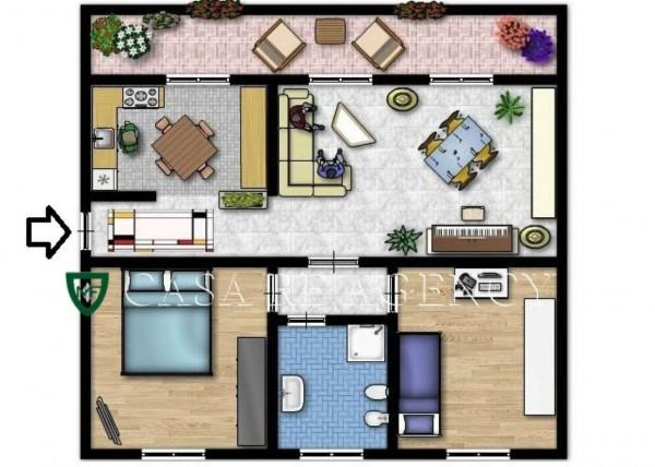 Appartamento in vendita a Varese, Arredato, 90 mq - Foto 2