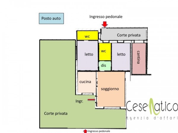 Appartamento in vendita a Gatteo, Gatteo Mare, Con giardino, 110 mq - Foto 2