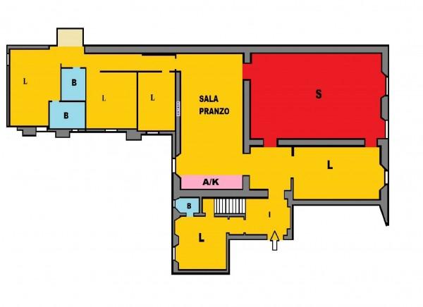 Appartamento in vendita a Roma, Rione Monti, 250 mq - Foto 3