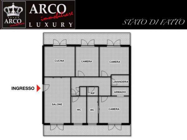 Appartamento in affitto a Cercola, Con giardino, 120 mq - Foto 2
