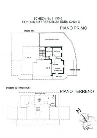 Appartamento in vendita a Roburent, Centro, Arredato, con giardino, 75 mq - Foto 2