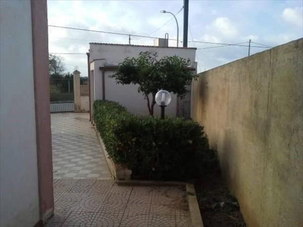 Casa indipendente in vendita a Trapani, Salina Grande, Con giardino, 135 mq - Foto 4