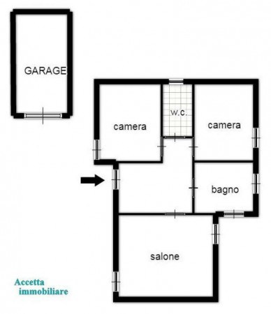Villa in vendita a Taranto, Residenziale, Con giardino, 145 mq - Foto 2