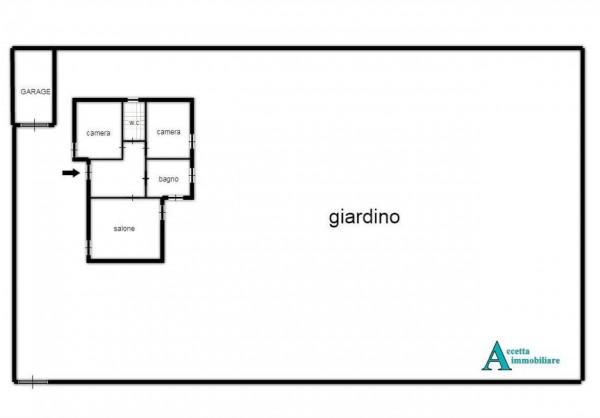 Villa in vendita a Taranto, Residenziale, Con giardino, 145 mq - Foto 3