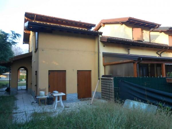 Villa in vendita a Monte Cremasco, Residenziale, Con giardino, 145 mq - Foto 10