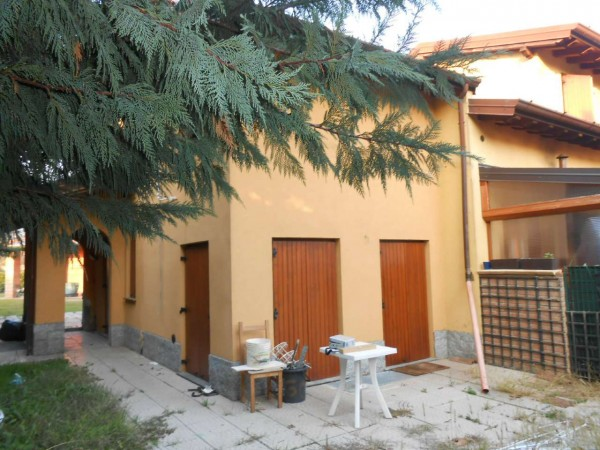 Villa in vendita a Monte Cremasco, Residenziale, Con giardino, 145 mq - Foto 9