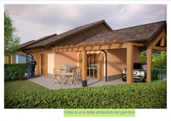 Villa in vendita a Compiano, Con giardino, 80 mq