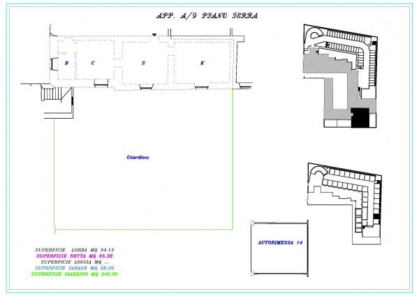Appartamento in vendita a Lonato del Garda, Semicentrale, Con giardino, 94 mq - Foto 2