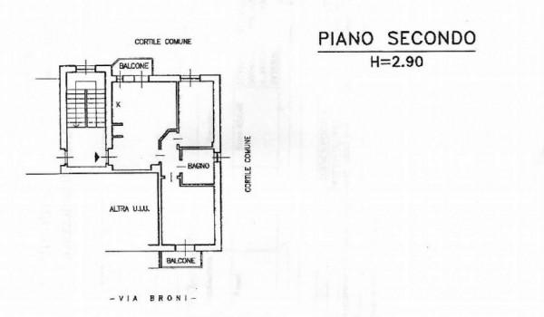 Appartamento in vendita a Milano, Con giardino, 75 mq - Foto 3