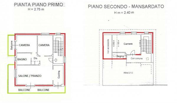 Appartamento in vendita a Caselette, Villaggio, Con giardino, 145 mq - Foto 21