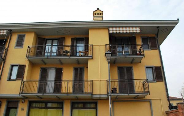 Appartamento in vendita a Candiolo, Centralissima, Con giardino, 72 mq