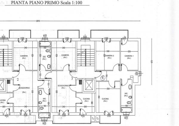 Appartamento in vendita a Candiolo, Centralissima, Con giardino, 72 mq - Foto 5