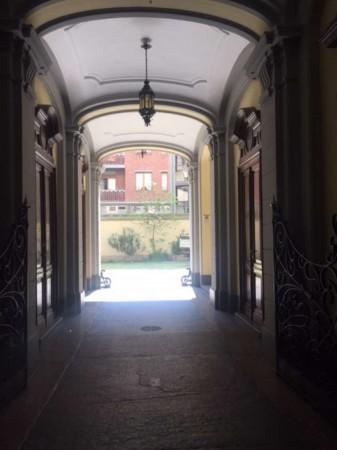 Ufficio in vendita a Torino, Parco Valentino, 105 mq