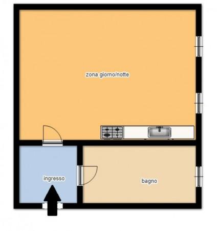 Appartamento in vendita a Torino, Barriera Di Milano, 35 mq - Foto 2