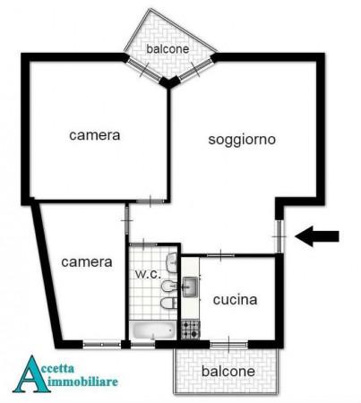 Appartamento in vendita a Taranto, Semi-centrale, 85 mq - Foto 2