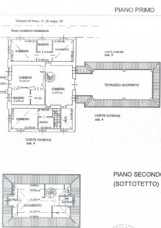 Villa in vendita a Piobesi Torinese, Piobesi, Con giardino, 577 mq - Foto 12