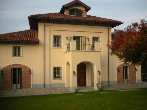 Villa in vendita a Piobesi Torinese, Piobesi, Con giardino, 577 mq - Foto 39