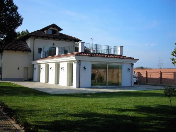 Villa in vendita a Piobesi Torinese, Piobesi, Con giardino, 577 mq - Foto 40