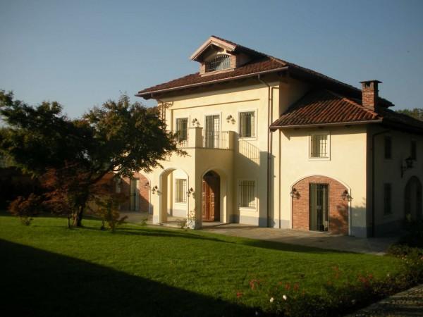Villa in vendita a Piobesi Torinese, Piobesi, Con giardino, 577 mq - Foto 42