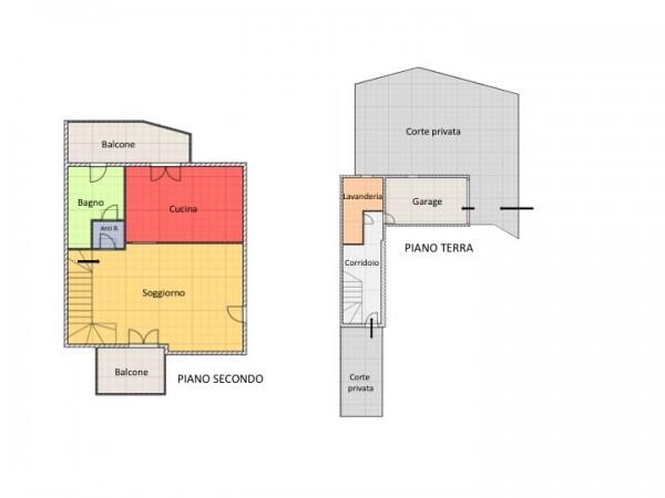 Villetta a schiera in vendita a Cesenatico, Cannucceto, Con giardino, 175 mq - Foto 3