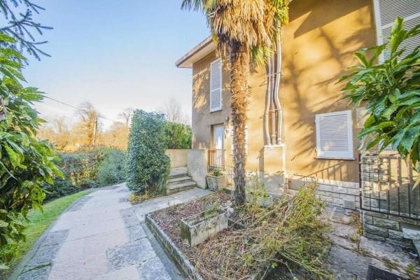 Villetta a schiera in vendita a Bregano, Residence Plan, Arredato, con giardino, 115 mq - Foto 24