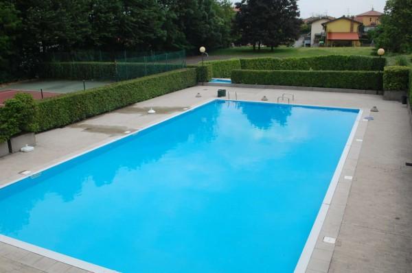 Villetta a schiera in vendita a Bregano, Residence Plan, Arredato, con giardino, 115 mq - Foto 8