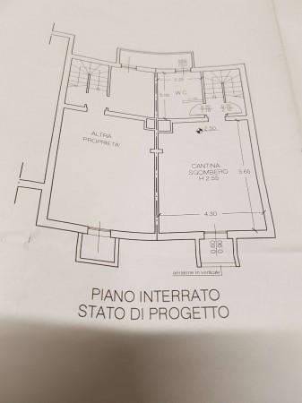 Villetta a schiera in vendita a Bregano, Residence Plan, Arredato, con giardino, 115 mq - Foto 3